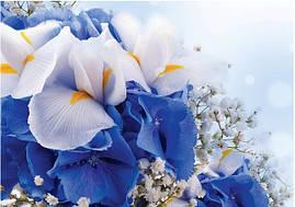 """Пакет для подарка гигант горизонтальный """"Цветы"""" 47х30 см  (6 шт/уп)"""