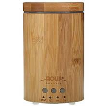 """Бамбуковый ультразвуковой диффузор NOW Foods, Solutions """"Real Bamboo Ultrasonic Oil Diffuser"""" (12 Вт)"""
