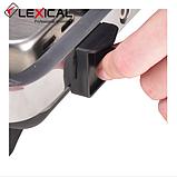 Контактный гриль LEXICAL LSM-2505  1300W  / Электрический гриль, фото 5
