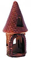 Декорация в аквариум и террариум Природа Башня мини 6*14 см