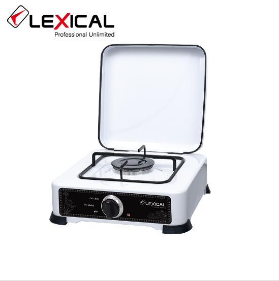 Настольная газовая плита LEXICAL LGS-2811-1 одноконфорочная  2.2KW