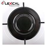 Газовая  плита LEXICAL LGS-2813-1  на 3 конфорки, White 4.7KW, фото 2