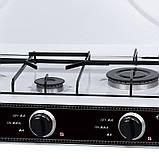Газовая  плита LEXICAL LGS-2813-1  на 3 конфорки, White 4.7KW, фото 4