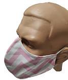 Маска для лица многоразовая тканевая  2-Х слойная защитная респиратор противовирусная, фото 7
