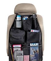 Органайзер автомобильного сидения, сумка для авто, Meridian Point Auto Back Seat Organizer with 6 Pockets