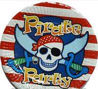 Тарелочки Пираты