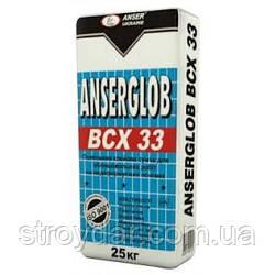 Клей ANSERGLOB BCX-33 (Ансерглоб) EURO-Standart 25 кг