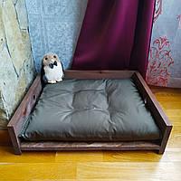 Ліжко дерев'яне 49х47х12см