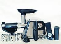 Мясорубка с шинковкой и соковыжималкой электрическая GRUNHELM AMG-180SSJ, фото 1