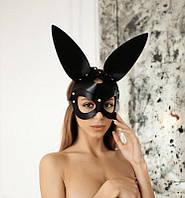 """Кожаная маска кролика """"Bunny"""""""