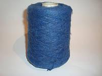 Мохер, синий цвет, Италия, вес 0.440