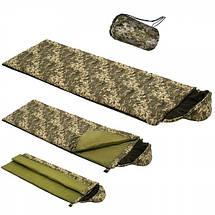 Спальный мешок (спальник) «AVERAGE» камуфляж 195x75 см, фото 3