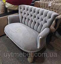 Диван Міс-Люкс меджик вельвет 2218 білі ніжки (Віком)
