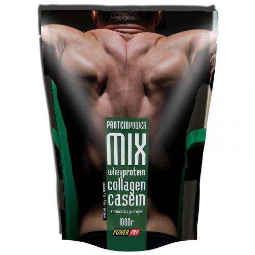 Многокомпонентный протеин Power Pro Protein MIX альпийская рапсодия 1 кг