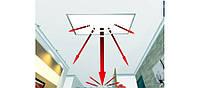 Инфракрасный потолочный обогреватель Обогреватель Ecos L500 C (540 Вт)