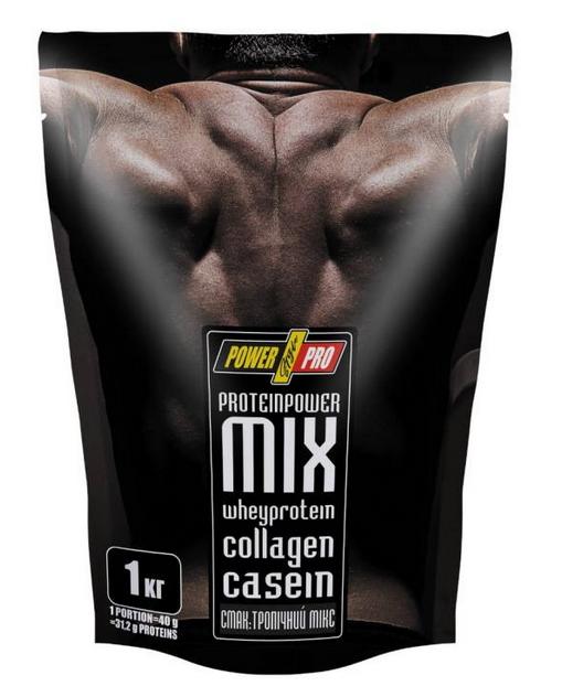 Многокомпонентный протеин Power Pro Protein MIX тропический микс 1 кг