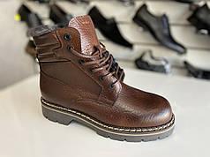 Самые тёплые зимние кожаные ботинки Wojas legend