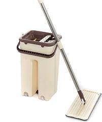 Швабра и Ведро большое с отжимом Scratch Cleaning Mop + Подарок