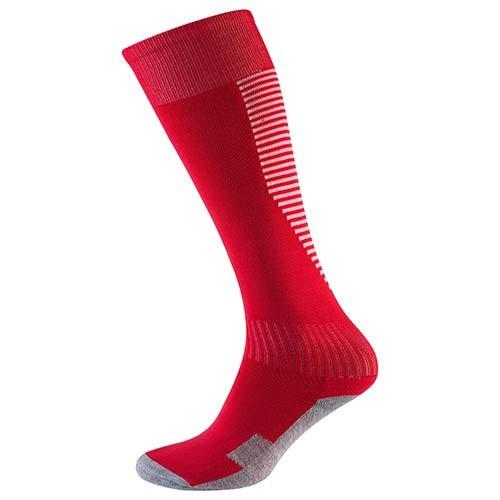 Гетры детские/подросток 34-39, терилен+эластан, красный, махровый носок