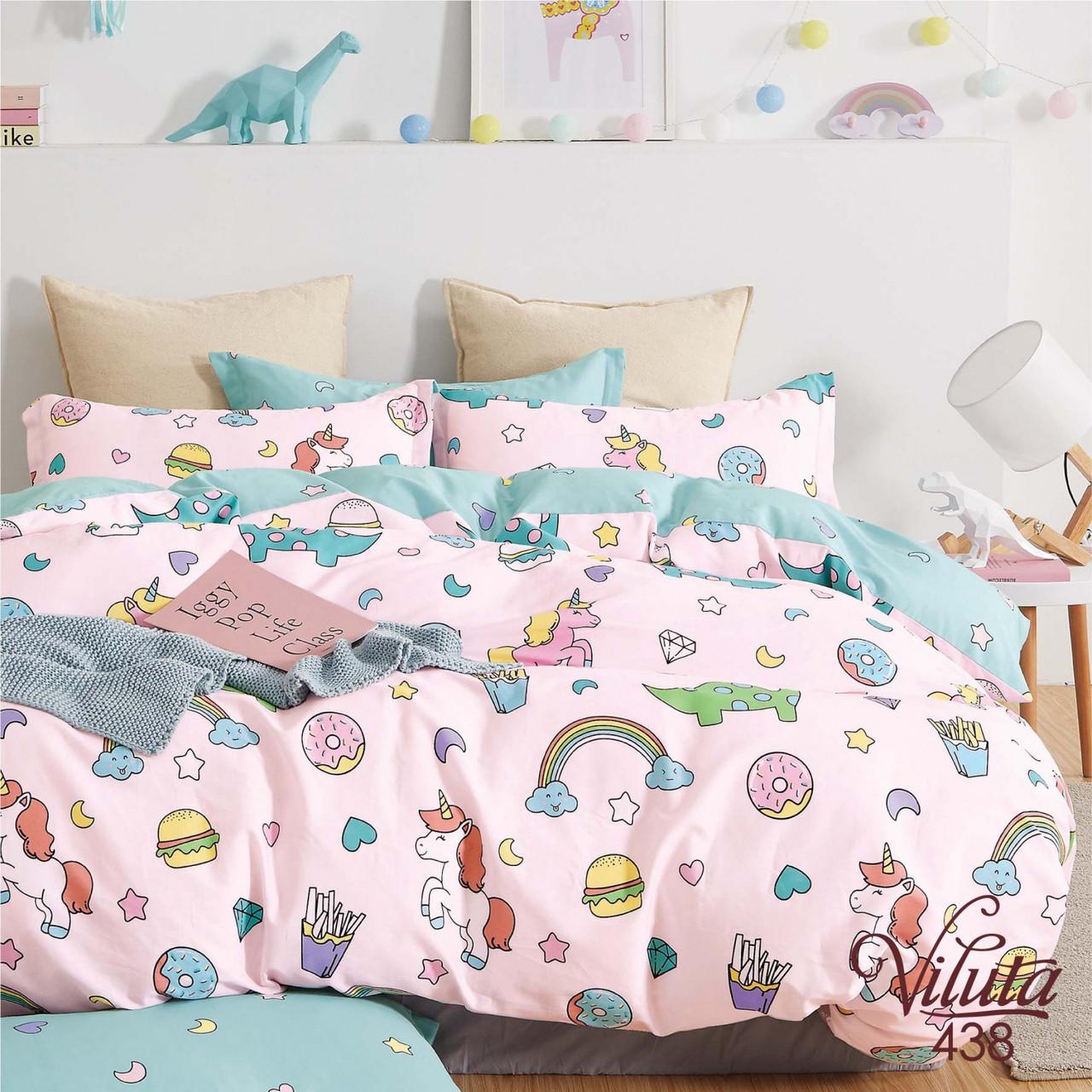 Постельное белье для малышей в кроватку 438 Viluta