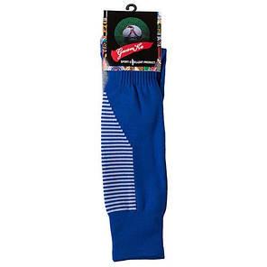 Гетры детские/подросток 34-39, терилен+эластан, синий, махровый носок, фото 2