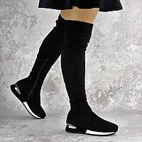 Ботфорты женские черные Tatum 2217 (38 размер), фото 1