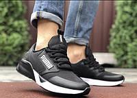 Мужские кроссовки     Puma  Термо-плащовка  Пресс кожа