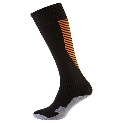 Гетры детские/подросток 34-39, терилен+эластан, черный, махровый носок