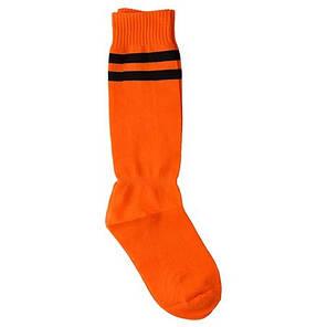 Гетры оранжевые 34-39,  х/б+ нейлон+ эластан, фото 2