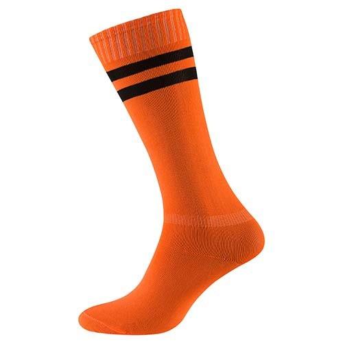 Гетры оранжевые 34-39,  х/б+ нейлон+ эластан