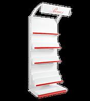 Стелаж книжковий пристінний, стеллаж книжный 2100х950 мм