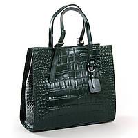 Женская кожаная сумка 8800 green купить женскую кожаную сумку недорого Одесса 7 км, фото 1