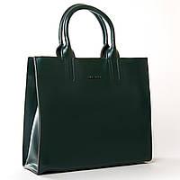 Женская кожаная сумка 8633 green купить женскую кожаную сумку недорого Одесса 7 км, фото 1