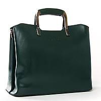 Женская кожаная сумка 1540 green купить женскую кожаную сумку недорого Одесса 7 км, фото 1
