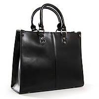Женская кожаная сумка 8802* black купить женскую кожаную сумку недорого Одесса 7 км, фото 1