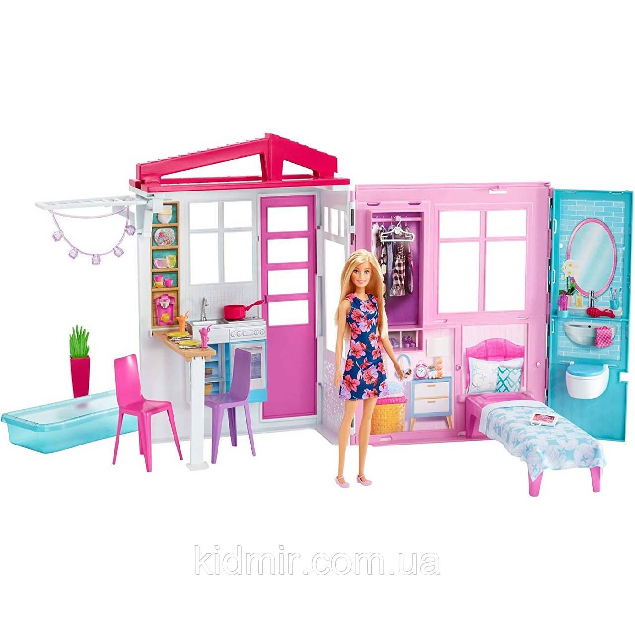 Домик Барби с басейном Barbie Doll House Playset FXG55