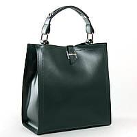 Женская кожаная сумка 9701 green купить женскую кожаную сумку недорого Одесса 7 км, фото 1
