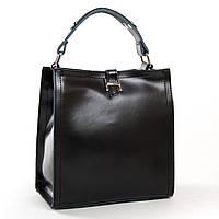Женская кожаная сумка 9701 black купить женскую кожаную сумку недорого Одесса 7 км, фото 1