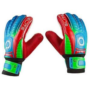 Вратарские перчатки Latex Foam ELITE, красно-зеленые, р.6, фото 2