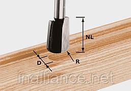 Фреза пазовая U-образная HW S8 R5 хвостовик 8 мм Festool 490981