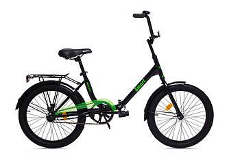 """Велосипед складной AIST SMART 20"""" 1.1 Черный"""