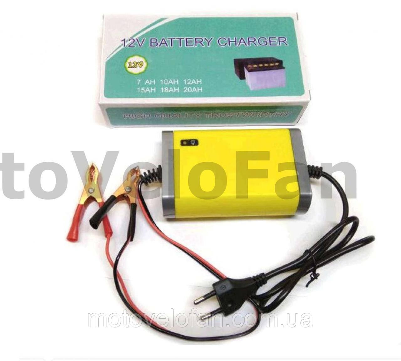 Зарядное устройство для АКБ   12V 2А/ч   DVK