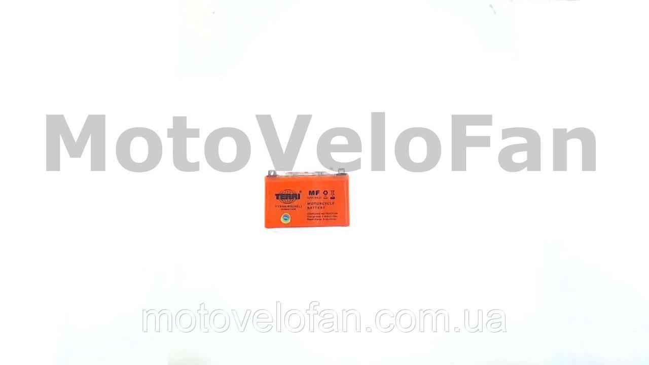АКБ   12V 9А   гелевый    (151x86x106, оранжевый)   TERRY   (#AKY)