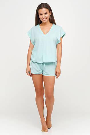 Женский хлопковый костюмчик  шорты и футболка для дома TM Orli, фото 2