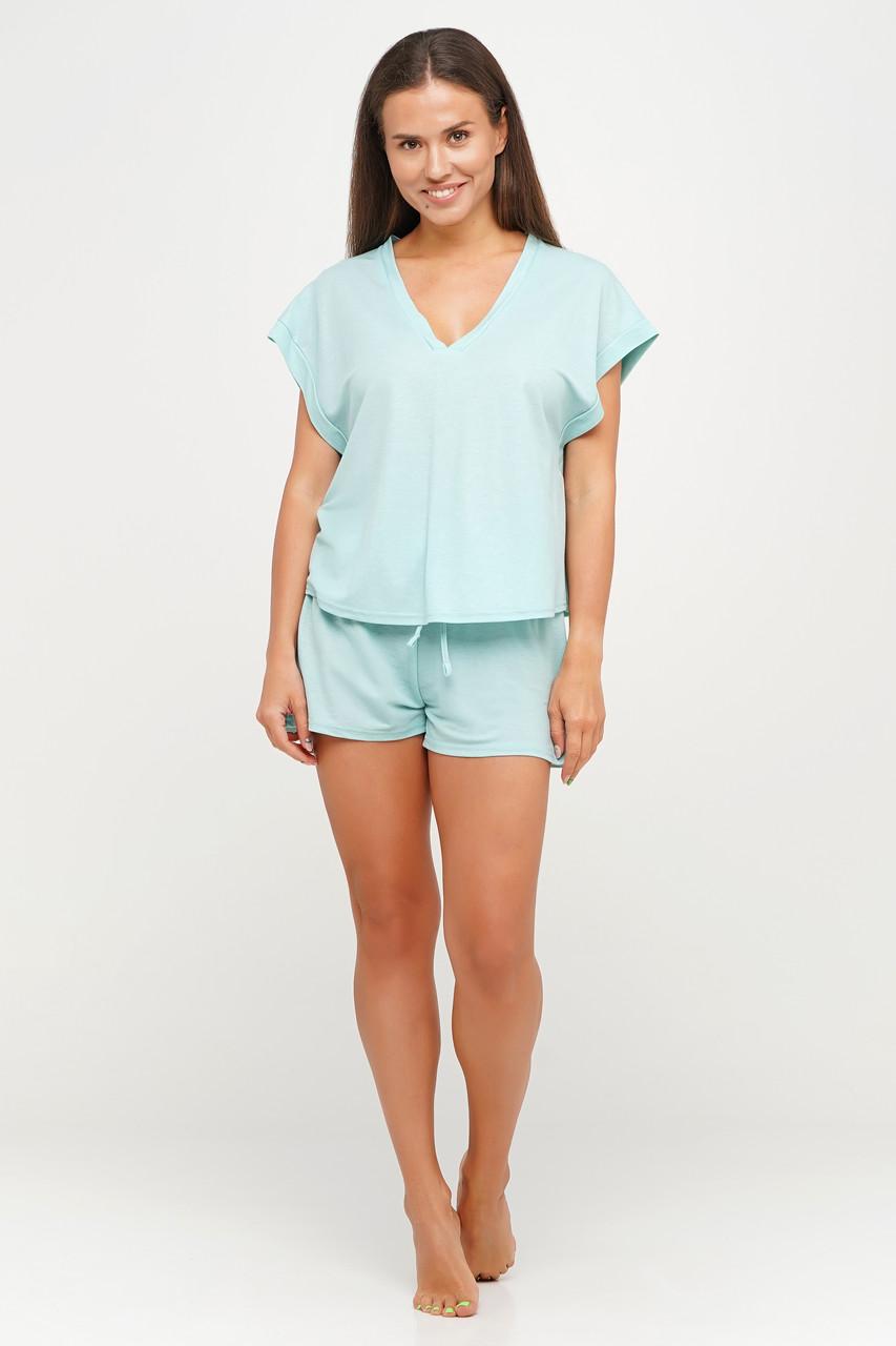 Женский хлопковый костюмчик  шорты и футболка для дома TM Orli