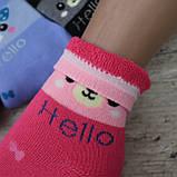 """Носки БАМБУК для девочек, размер  (31-36).  """"Корона"""" . Детские зимние  носки, носочки шерстяные, фото 3"""