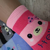 """Носки БАМБУК для девочек, размер  (31-36).  """"Корона"""" . Детские зимние  носки, носочки шерстяные, фото 4"""