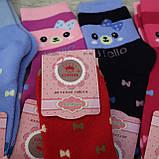 """Носки БАМБУК для девочек, размер  (31-36).  """"Корона"""" . Детские зимние  носки, носочки шерстяные, фото 5"""