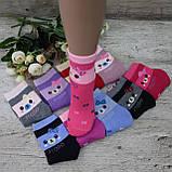 """Носки БАМБУК для девочек, размер  (31-36).  """"Корона"""" . Детские зимние  носки, носочки шерстяные, фото 2"""