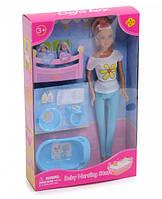 Кукла-мама с детьми 8213